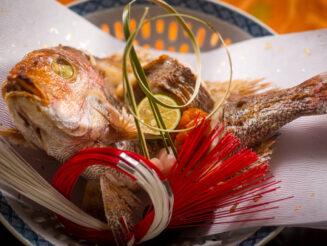 お祝いプラン-近江牛特選会席-】<尾頭付き焼き鯛>想い出に残る料理と過ごす、特別な記念日――